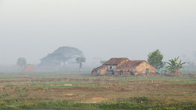 Hut Myanmar Stock Photography