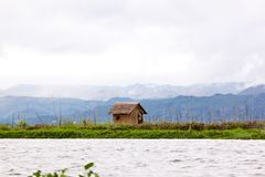 A hut near inle lake, Myanmar Stock Photos