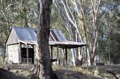 Hut. Old hut in the bush Royalty Free Stock Image