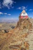 Hut op Chacaltaya Royalty-vrije Stock Fotografie