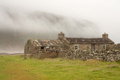 Hut on an Orkney island Stock Image