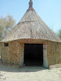 Hut. This is a hut for poor people who they live in this hut for many years in khairpur sindh Pakistan Stock Images