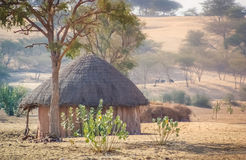 Hut in Rajasthan Stock Image