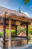 A Hut in Resort and Spa in Ubud, Bali Royalty Free Stock Photography