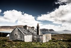 Hut, Ruin, Ireland Royalty Free Stock Photos