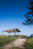 Hut by the sea Stock Photography