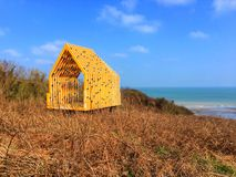 Hut by the sea Royalty Free Stock Photos