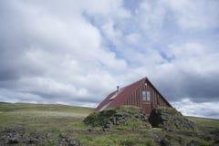 Hut Skælingar (plural) in Iceland Stock Images