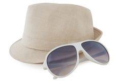 Hut, Sonnenbrille Stockbilder