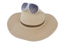 Hut, Sonnenbrille Stockfotografie
