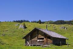 Hut  in Switzerland Stock Photos