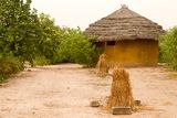 Hut in Tambacounda Royalty Free Stock Photos