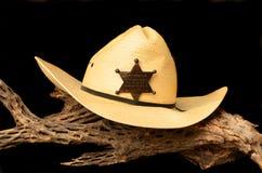 Hut und Abzeichen Lizenzfreies Stockfoto
