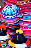 Hut- und Kappenthailand-Art für Hintergrund Stockfotografie