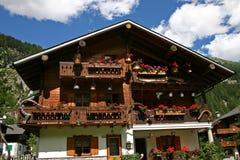 Hut van Macugnaga royalty-vrije stock afbeelding