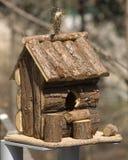 Hut voor vogels royalty-vrije stock afbeelding