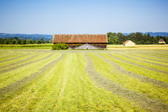 Hut Weilheim. An image of a hut near Weilheim Bavaria Germany Royalty Free Stock Photography