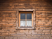 Hut and window with curtain (10) Royalty Free Stock Photos