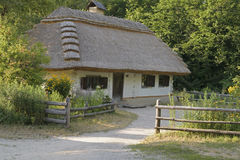 The hut of the XVII century Stock Photography