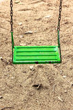 huśtawkowa zieleń Zdjęcia Stock