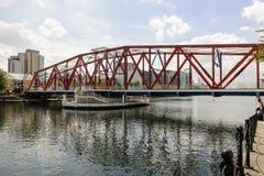 Huśtawkowy most Obraz Stock
