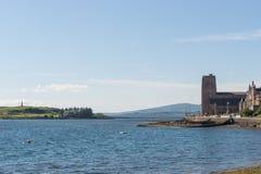 Hutchesonsmonument in dichtbijgelegen van Oban, Schotland royalty-vrije stock foto