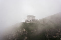 Hute nahe Tre Cime, Dolomit, Europa Stockfoto