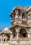 Hutheesing Jain świątynia w Ahmedabad, Gujarat, India Zdjęcie Stock
