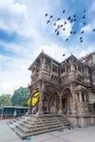 Hutheesing jain derasar, Ahmedabad, Gujarat, Indien arkivfoto