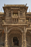 Hutheesing-Tempel in Ahmadabad, Gujarat, Indien stockbild