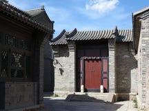 Hutong和allery在北京 库存照片
