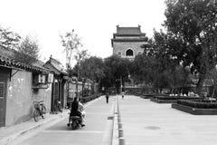 Hutong在老北京市 库存图片