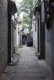 Hutong胡同,北京 免版税图库摄影