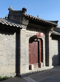 Hutong and allery in Beijing. Hutong is Alley. It was first originated in the Yuan Dynasty, there are  more than 6,000 in the hietory. Both sides are generally Stock Image