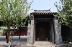 Hutong and allery in Beijing Stock Photo