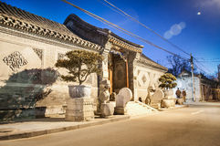 HUTONG AREA IN BEIJING Stock Photos