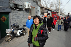 Hutong in Beijing China Royalty Free Stock Images