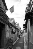 Hutong dans la vieille ville de Pékin Images libres de droits