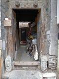 Hutong de Pékin Photo libre de droits