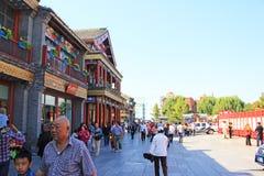 Hutong de Pékin Images stock