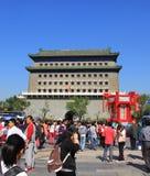 Hutong de Pekín Imágenes de archivo libres de regalías