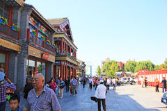 Hutong de Pekín Imagenes de archivo