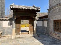 Hutong e allery a Pechino immagine stock libera da diritti