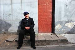 Hutong i Beijing Kina Arkivbilder