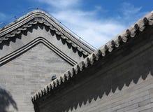 Hutong och allery i Beijing Royaltyfria Foton
