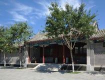 Hutong och allery i Beijing Arkivfoton