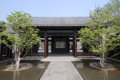 Hutong och allery i Beijing Fotografering för Bildbyråer