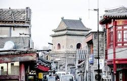 Hutong a Pechino Immagine Stock