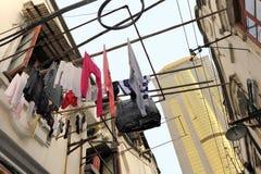 Hutong a Schang-Hai Fotografia Stock