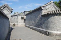 Hutongl in Beijing Stock Photos